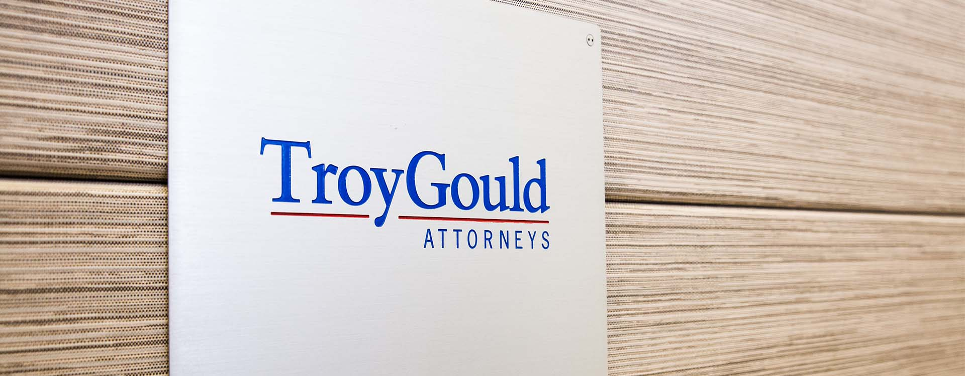TroyGould Attorneys Sign