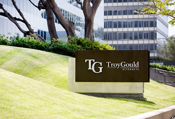 TroyGould Attorneys Building Sign